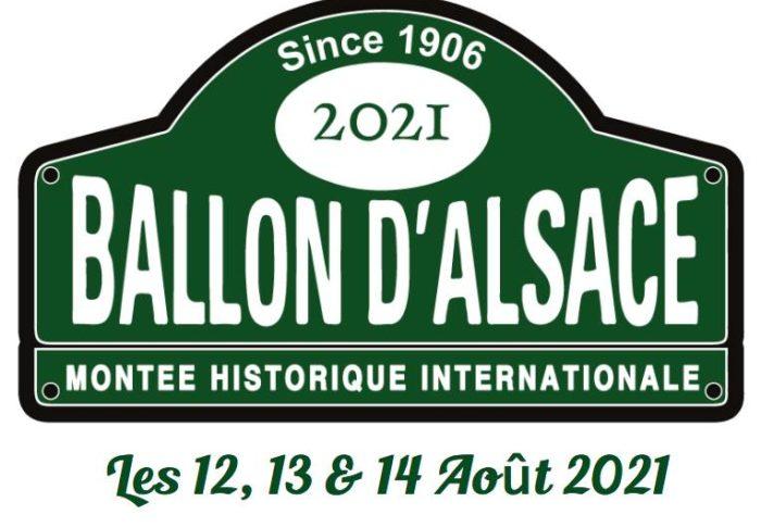 Montée Historique Internationale du Ballon d'Alsace 2021 !